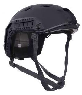 Advanced Tactical Helmet Black